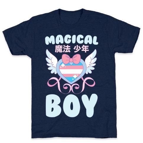 Magical Boy - Trans Pride T-Shirt
