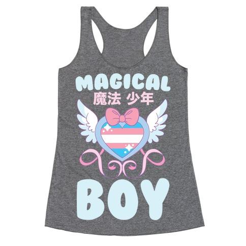 Magical Boy - Trans Pride Racerback Tank Top