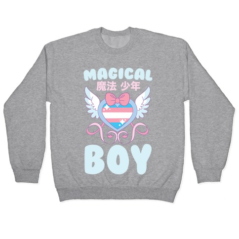 Magical Boy - Trans Pride Pullover