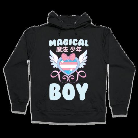 Magical Boy - Trans Pride Hooded Sweatshirt