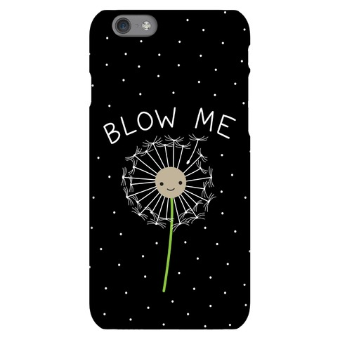 Blow Me Dandelion Phone Case