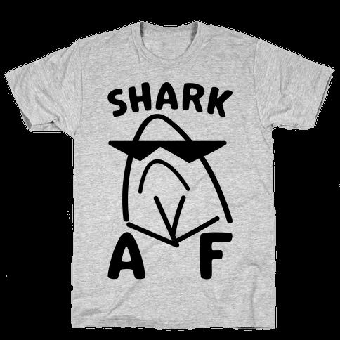 Shark AF Mens T-Shirt
