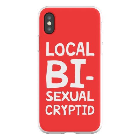 Local Bisexual Cryptid Phone Flexi-Case