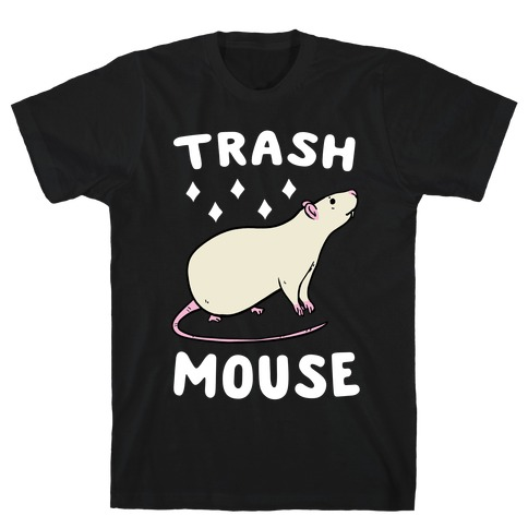 Trash Mouse Mens T-Shirt