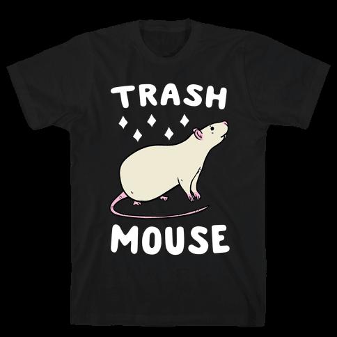 Trash Mouse Mens T-Shirt