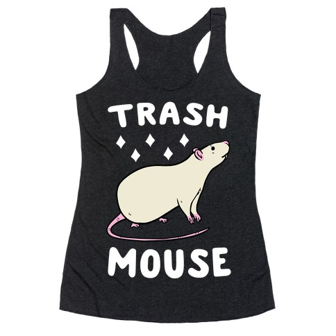Trash Mouse Racerback Tank Top