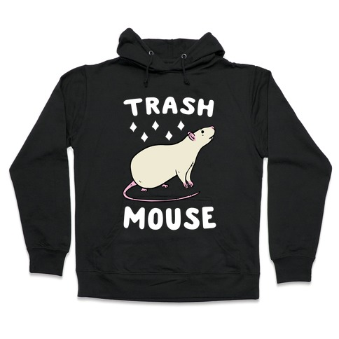 Trash Mouse Hooded Sweatshirt