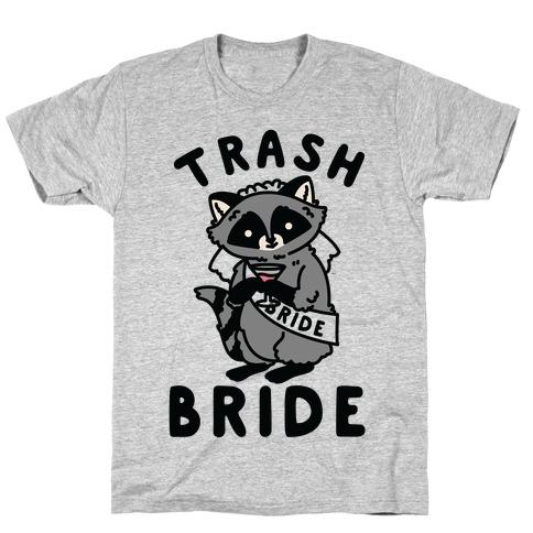 Trash Bride Raccoon Bachelorette Party T-Shirt