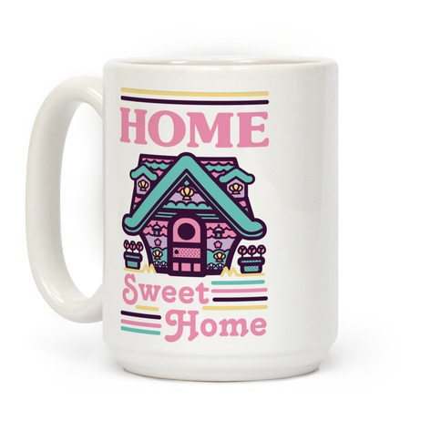 Home Sweet Home Mermaid Series Exterior Coffee Mug