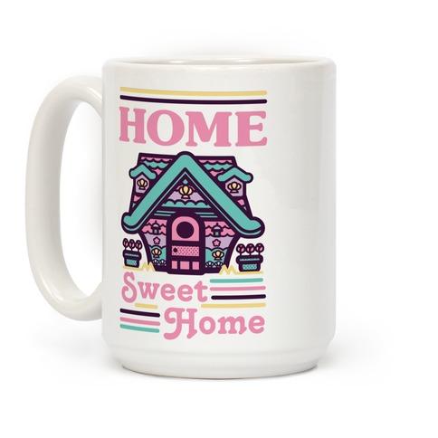 Home Sweet Home Mermaid Series Exterior Coffee Mug