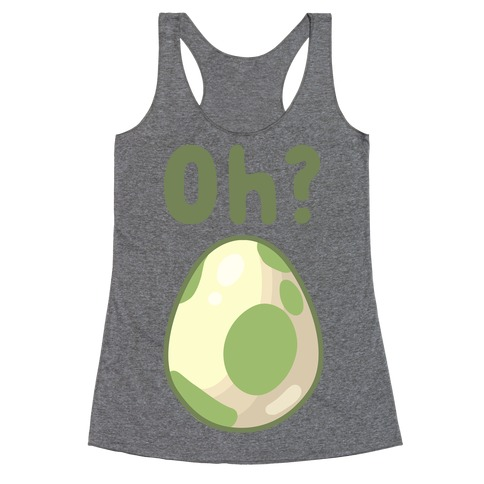 Oh? Egg Hatching Racerback Tank Top