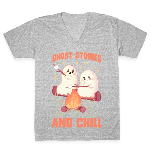 Ghost Stories And Chill V-Neck Tee Shirt