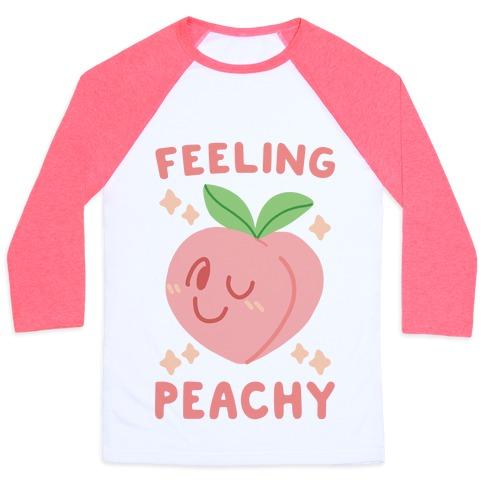 Feeling Peachy Baseball Tee