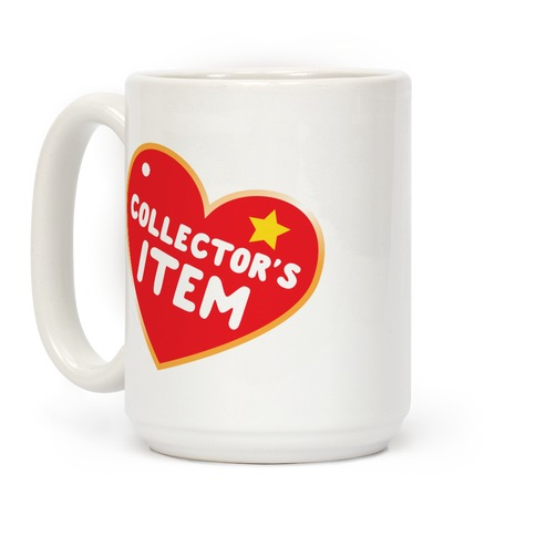 Collector's Item Toy Parody Coffee Mug