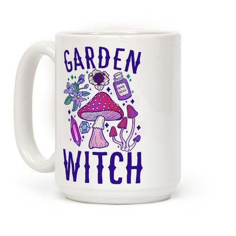 Garden Witch COLOR  Coffee Mug