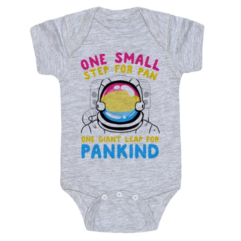 One Small Step For Pan, One Giant Leap For Pankind Baby Onesy