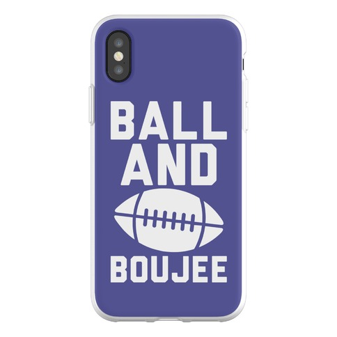 Ball and Boujee Football Parody Phone Flexi-Case