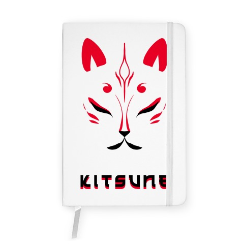 Kitsune Face Notebook