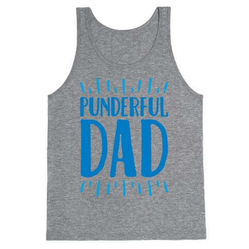 Punderful Dad Tank Top
