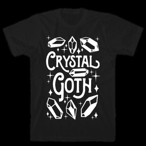 Crystal Goth Mens/Unisex T-Shirt