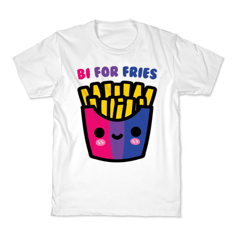 Bi For Fries Kids T-Shirt