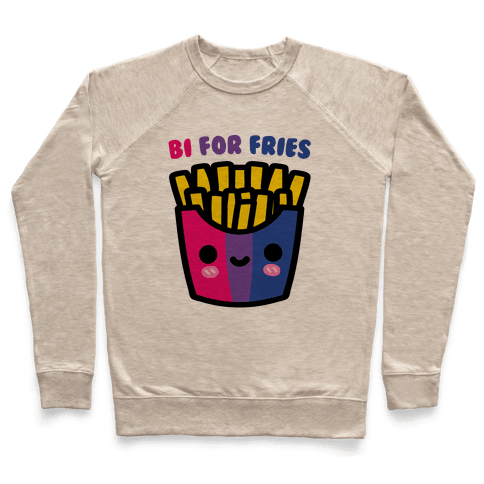 Bi For Fries Pullover