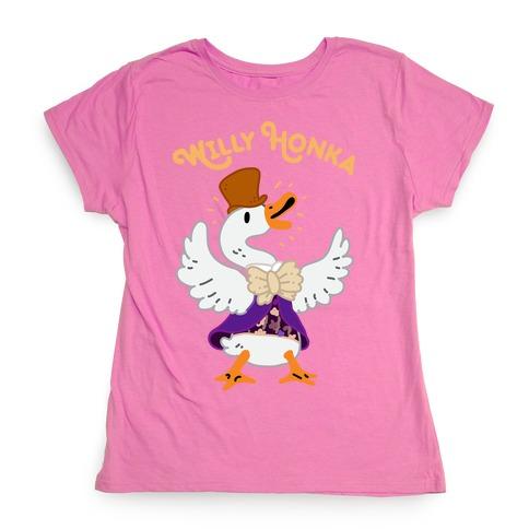 Willy Honka Womens T-Shirt