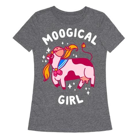 Moogical Girl Womens T-Shirt