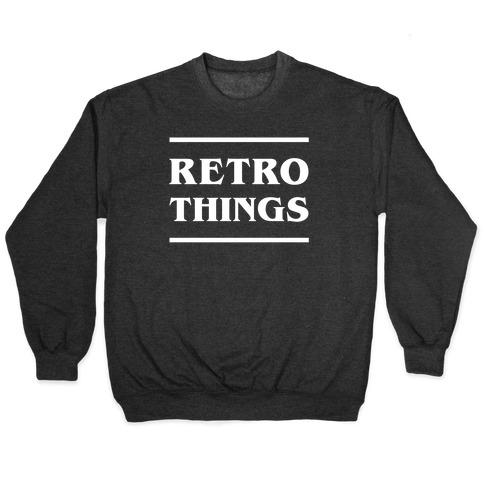 Retro Things Pullover