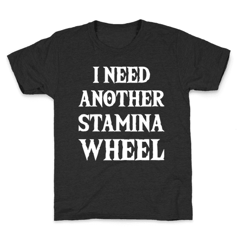 I Need Another Stamina Wheel Zelda Parody Kids T-Shirt