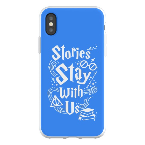 Stories Stay With Us Phone Flexi-Case