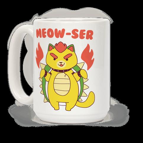 Meow-ser  Coffee Mug