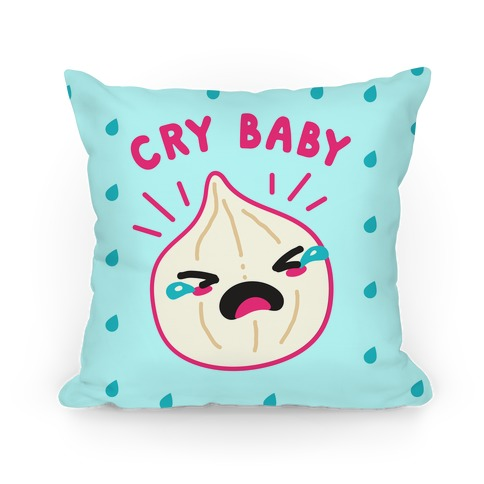 Cry Baby Onion Pillow