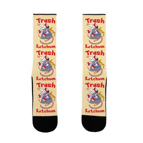 Trash Ketchum Sock