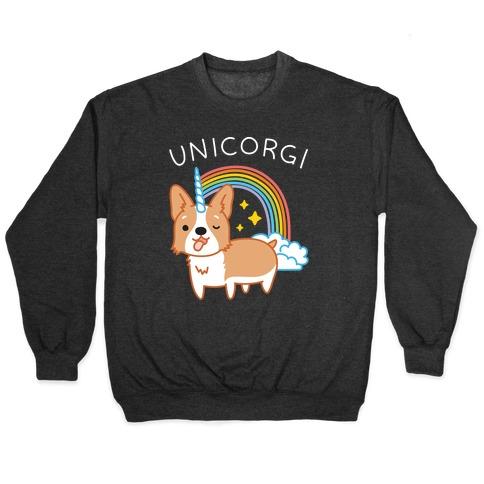 Unicorgi Corgi Unicorn Pullover