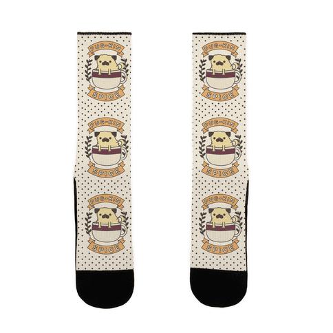 Pugkin Spice Sock
