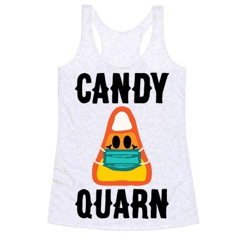 Candy Quarn Racerback Tank Top