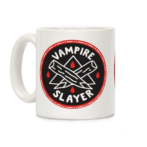 Vampire Slayer Culture Merit Badge Coffee Mug