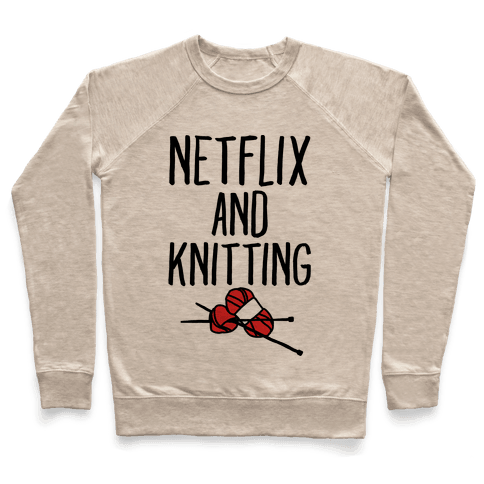 Netflix and Knitting