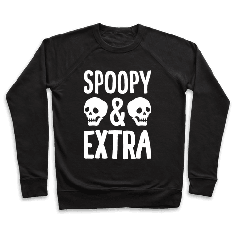 Spoopy & Extra Pullover