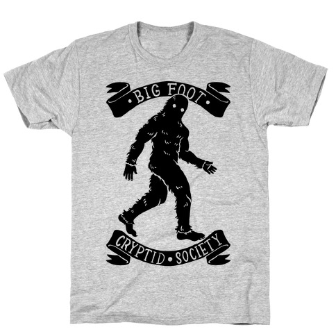 Big Foot Cryptid Society T-Shirt