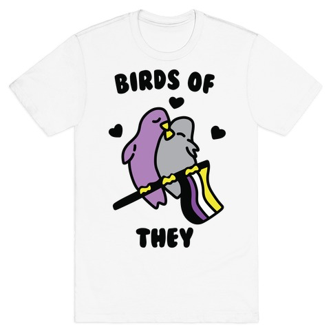 Birds of They T-Shirt