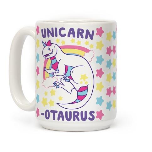 Unicarnotaurus - Unicorn Carnotaurus Coffee Mug