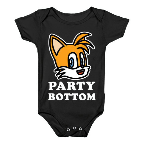 Party Bottom Baby Onesy