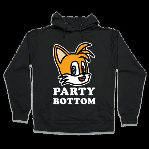 Party Bottom Hooded Sweatshirt