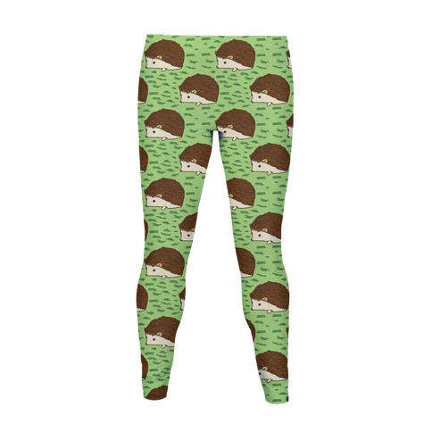 Cute Hedgehog Pattern Women's Legging