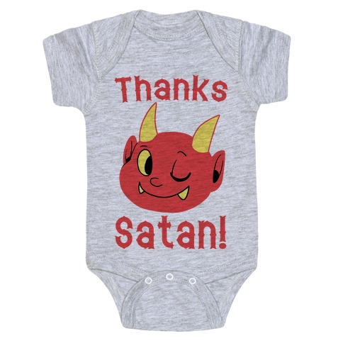 Thanks, Satan! Baby Onesy