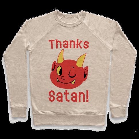 Thanks, Satan! Pullover