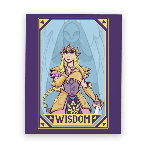 Wisdom - Zelda Canvas Print
