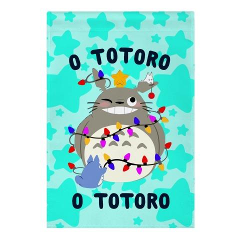 O Totoro, O Totoro Garden Flag